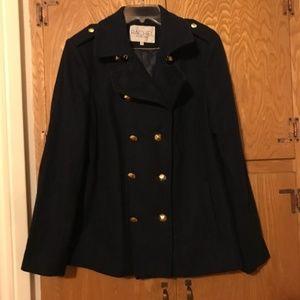Classy Rachel Roy Navy Peacoat XL